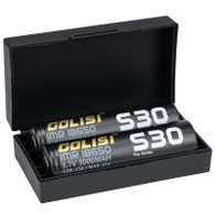 GOLISI IMR S30 Pro-Series 18650 2 Pack Batteries