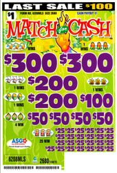 MATCH FOR CASH