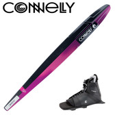 "Connelly SP 66"" Women's Slalom with Swerve Front Binding & Rear Toe Strap"