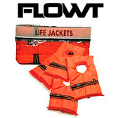 FLOWT AK-1 Orange Adult Vest Universal 4-Pack