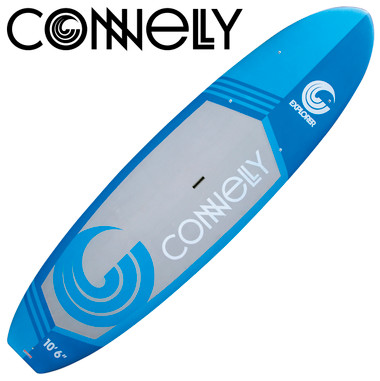 """Connelly Explorer 10'6"""" Paddleboard with Adjustable Paddle 2016"""