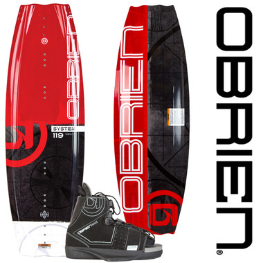 O'Brien System 119 Kid's Wakeboard with Clutch Jr. Bindings