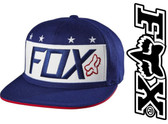 Fox Red, White and True Snapback Hat