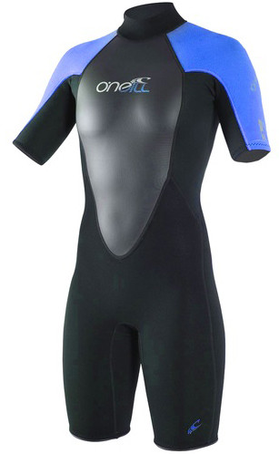 O'Neill Womens Reactor Shorty Wetsuit for the Lowest Price at RIDE THE WAVE