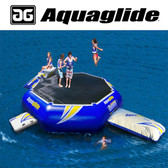 Aquaglide Rebound 20' Bouncer with I-Log, Blast, & Swimstep