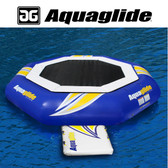 Aquaglide Supertramp 17' Water Trampoline with Swimstep