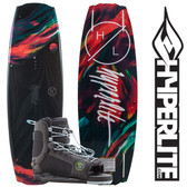 Hyperlite Maiden 134 cm Women's Wakeboard Package with Jinx Boots