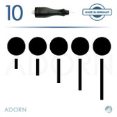 5 Sloped Needle (Box of 10) - for Symphony I & II Machine (+ Compatible Machines)