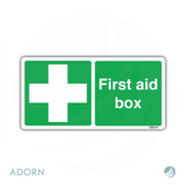 SIGN: 'First Aid Box'