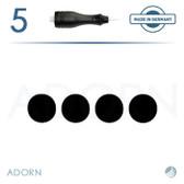 4 Flat Needle (Strip of 5) - for Symphony I & II Machine (+ Compatible Machines)