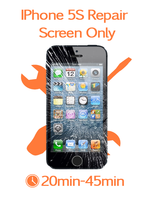 how big is iphone 5s iphone 5s screen only repair mobilemender 17022