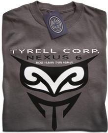 Blade Runner Tyrell Nexus 6 (Grey) T Shirt