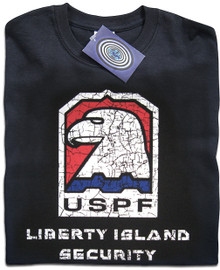 Escape from New York Liberty Island T Shirt