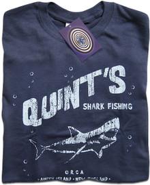 Quint's Shark Fishing T Shirt
