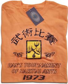 Hans Tournament Enter the Dragon (Tangerine) T Shirt