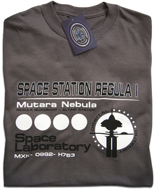 Space Station Regula 1 T Shirt