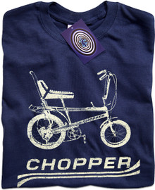 Chopper Bike (Blue) T Shirt