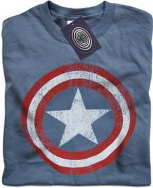 Captain America (Logo) T Shirt