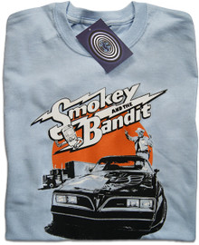 Smokey and the Bandit (Blue) T Shirt