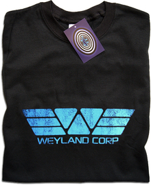 Weyland Corp (Blue) T Shirt