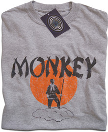 Monkey Magic (Grey) T Shirt