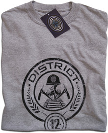 The Hunger Games District 12 T Shirt