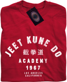 Jeet Kune Do Academy T Shirt (Red)