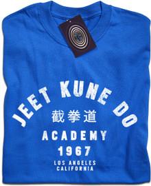 Jeet Kune Do Academy T Shirt (Royal Blue)