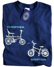 Chopper vs Grifter T Shirt (Blue)
