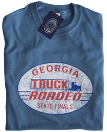 Truck Roadeo T Shirt (Indigo)