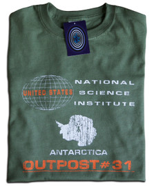 Outpost#31 (The Thing) T Shirt (Green)