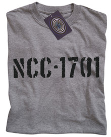 NCC-1701 Enterprise T Shirt (Grey)