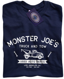 Monster Joe's (Pulp Fiction) T Shirt (Blue)