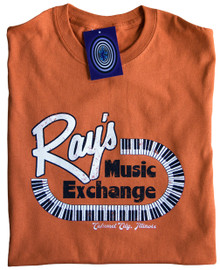 Ray's Music Exchange T Shirt (Orange)