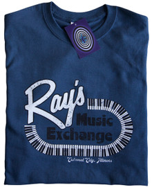 Ray's Music Exchange T Shirt (Blue)
