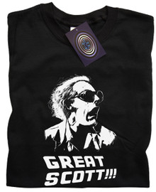 Great Scott! T Shirt (Black)