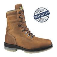 """Wolverine® Men's DuraShocks® Waterproof Insulated Steel-Toe EH 8"""" Work Boot"""