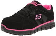 Skechers Work: Synergy - Sandlot ST (Black/Pink)