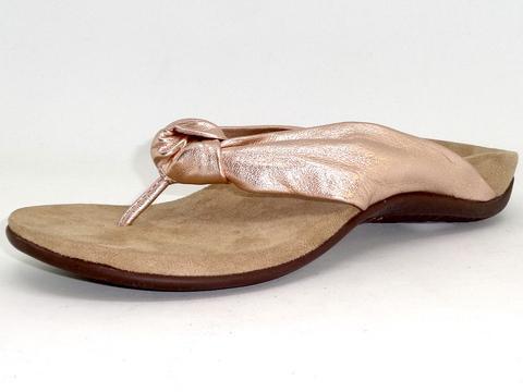 a1997e283d05 Vionic Pippa Toe Post Sandal (Rose Gold) - LEE S SHOES of Dunn