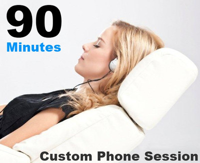 90 Minute Phone Session