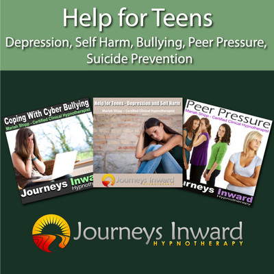 Help for Teens - Depression, Self Harm, Cyber Bullying, Peer Pressure, Suicide Prevention Hypnosis download MP3