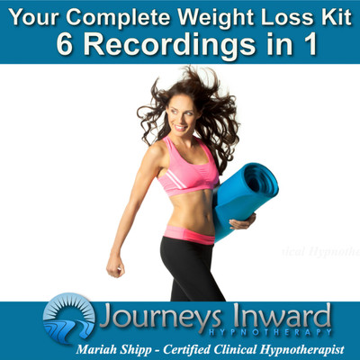 Your Complete Weight Loss Kit (6 Recordings in 1) Hypnosis for Weight Loss