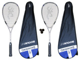 2 x Browning Big Gun Ti 150 Squash Rackets
