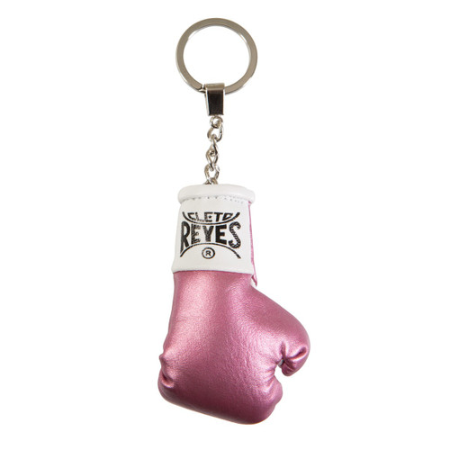 Cleto Reyes Boxing Glove Keyring Pink Color