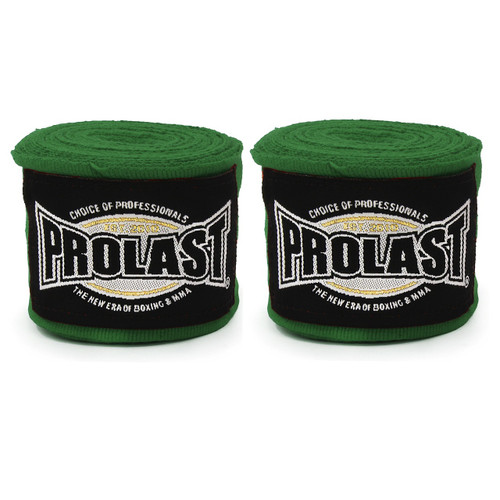 "PROLAST® SELECT 180"" SEMI ELASTIC HUNTER GREEN COLOR MEXICAN HAND WRAPS"