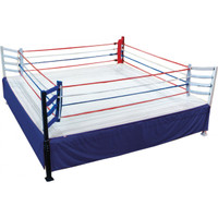 CLASSIC ELEVATED BOXING RING 20' X 20'