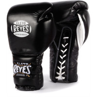 Cleto Reyes Lace Up Training Gloves Black Color