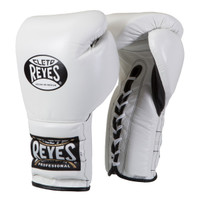 Cleto Reyes Lace Up Training Gloves White Color
