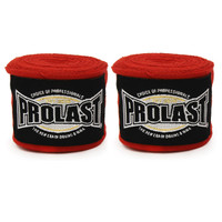 "PROLAST® PRO SELECT 180"" SEMI ELASTIC RED COLOR MEXICAN HAND WRAPS"