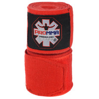 PRO MMA® SEMI-STRETCH Red Hand Wraps